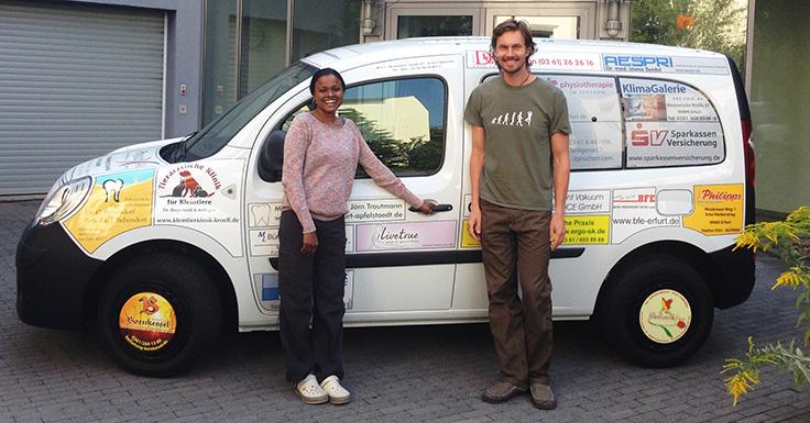 Livetrue Spenden Engagement in Erfurt